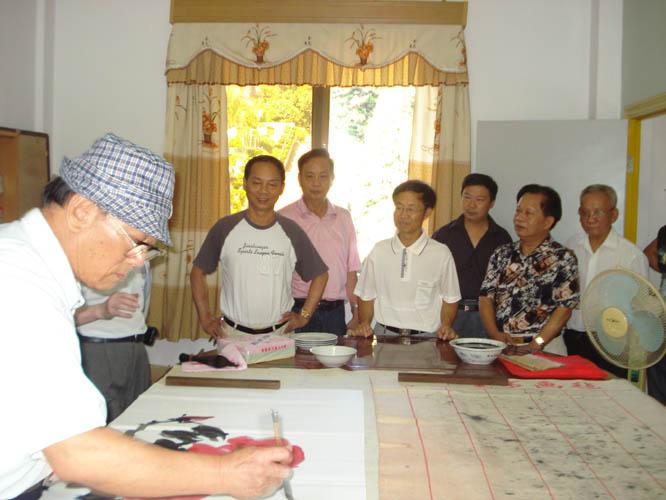 和平大峰风景区管委会主任周创建,副主任卓锦奎,和平宋大峰福利会会长